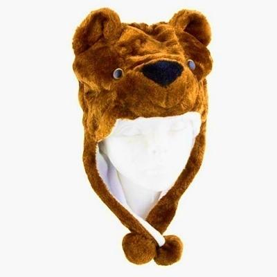 Dětská čepice medvídek