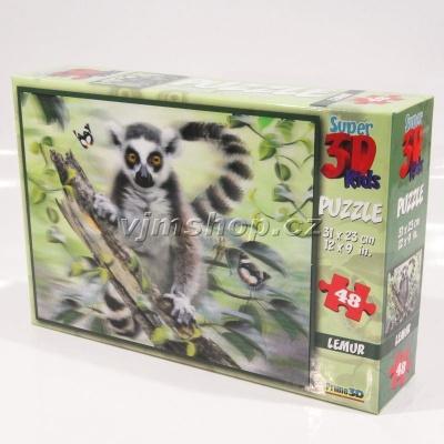 3D Puzzle Lemur