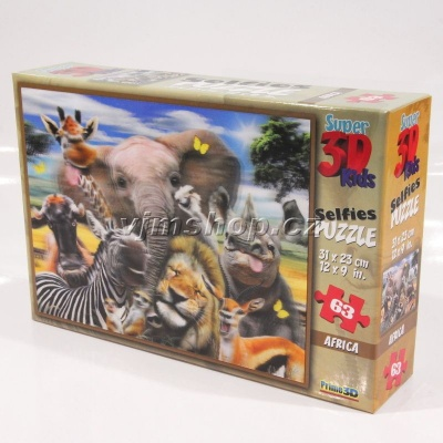 3D Puzzle Afrika