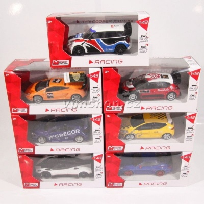 Mondo Motors Auta Racing - 1:43 ass.
