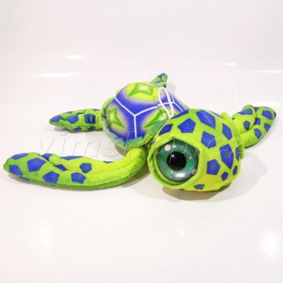 Plyš želva velké oči