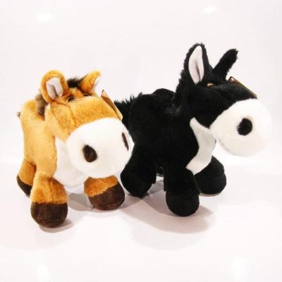 Kůň stojící 2barvy cca 20cm