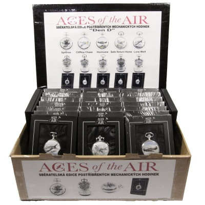 Hodinky ACES of the AIR Box 25ks