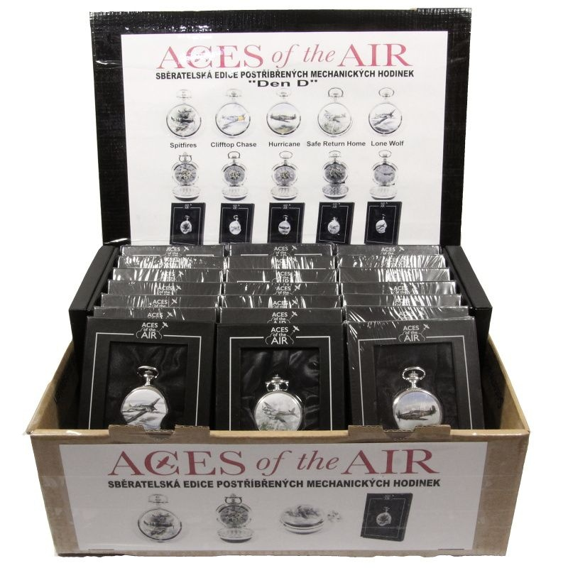 Hodinky ACES of the AIR Box 25ks