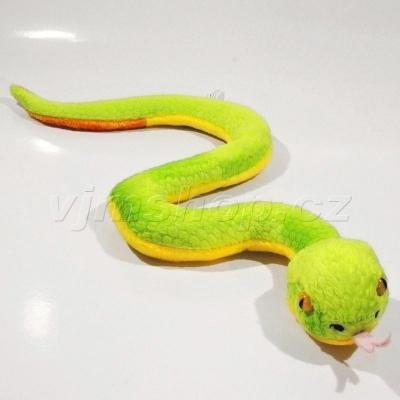 Plyšový Had Zmije 50cm