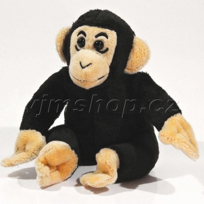 Plyšová Opice šimpanz 15cm