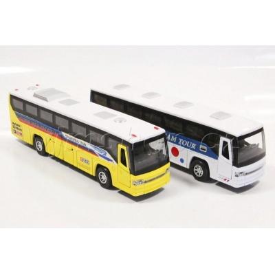 Autobus 2 barvy kov.
