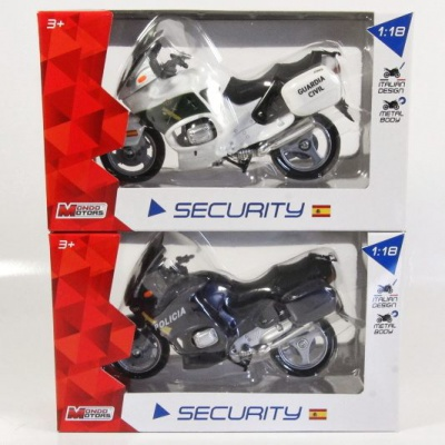 Motorky Security Spain - 1:18 ass