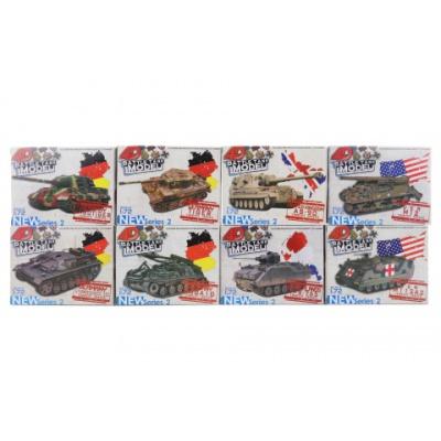 Tank 4D 8 druhů