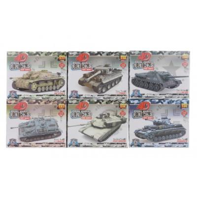Tank 4D 6 druhů
