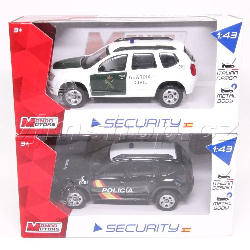 Mondo Motors Security Spain - 1:43 ass.