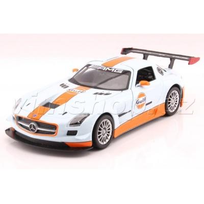 Mercedes-Benz SLS AMG GT3 1:24 - Gulf Series