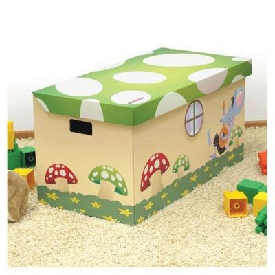 Krabice truhla muchomůrky 80,5x41x41cm