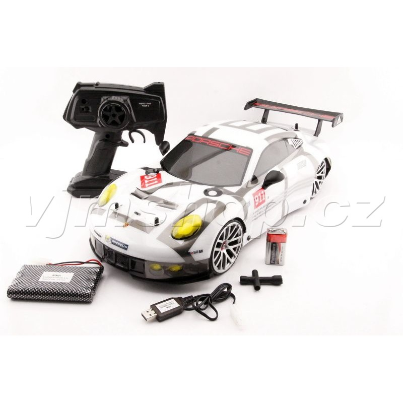 RC - Porsche 911 RSR 4WD - 1:10 - 2,4GHz Drifting