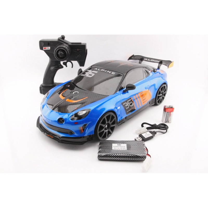RC - Renault Alpine GT4 - 1:10 - 2,4GHz Drifting