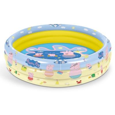 Nafukovací bazén Peppa Pig 3 kruhy 100cm