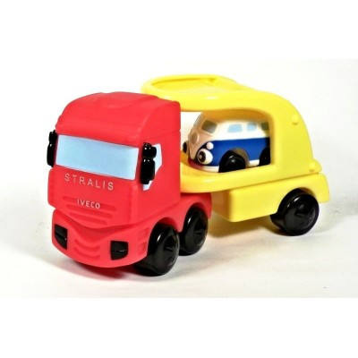 Motor Town - Iveco Stralis Broomey - Tahač+přívěs+auto