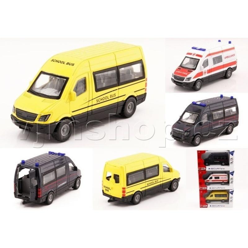 Model Auto Mini Bus -1:43 ass