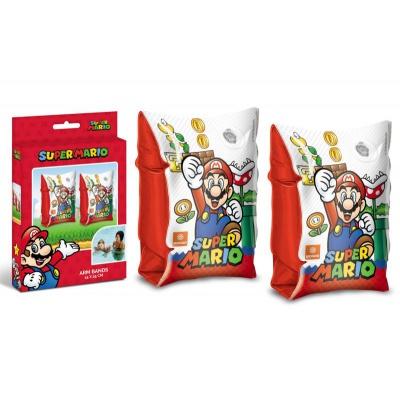 Nafukovací rukávky Super Mario 25x15cm