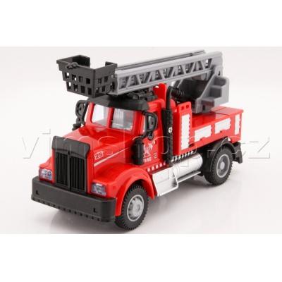 Model auto hasiči světlo a zvuk