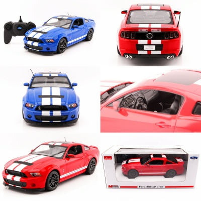 RC - Ford Mustang Shelby GT 500 1:14 - 2.4 GHz různé barvy