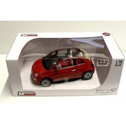 Fiat Nuova 500 Cabrio - 1:18 ass