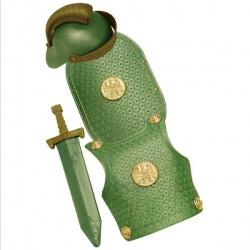 Římské brnění - zelené