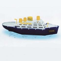 Plastová loď 524 TITANIC