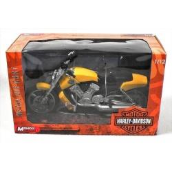 Motorky Harley Davidson - 1:12 ass