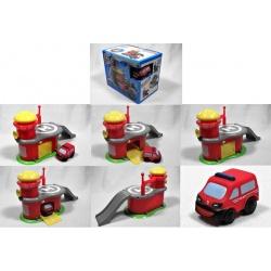 MotorTown - Fire Station + 1x auto - hasiči