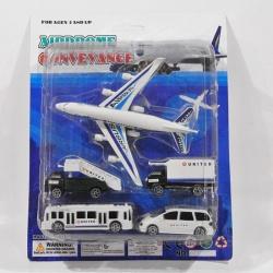 Model letadla a vozového parku